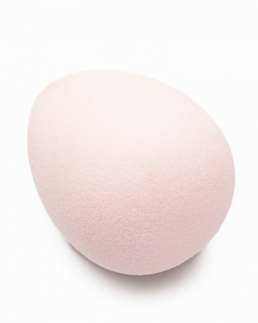 Esponja Maquillaje Rosa Pastel