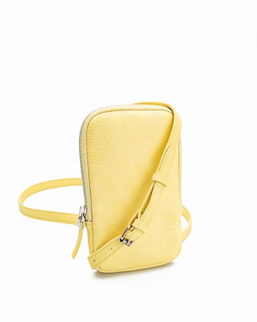 Bolso Porta Teléfono Amarillo