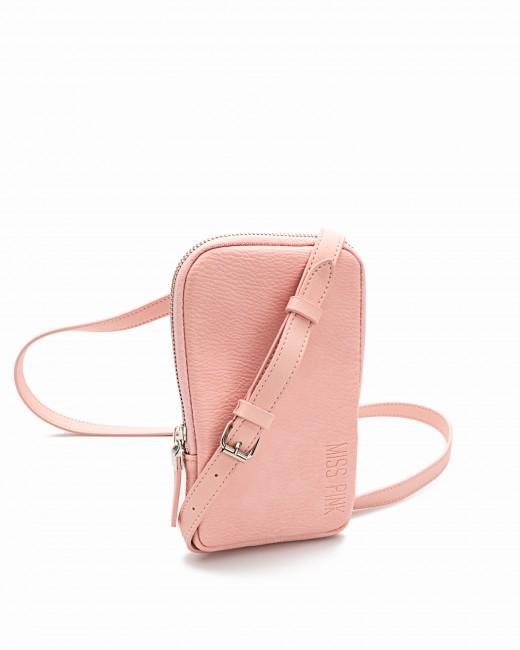 Bolso Porta Teléfono Rosa