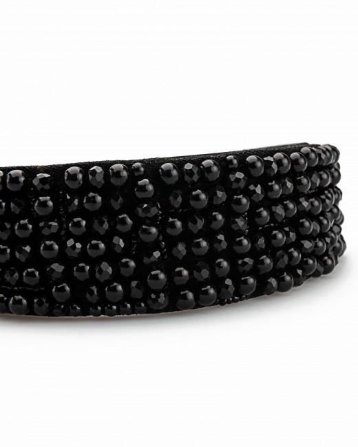 Diadema Perlas Negras